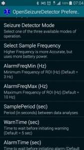 New settings in v2.0.7 - sample period and sample frequency.